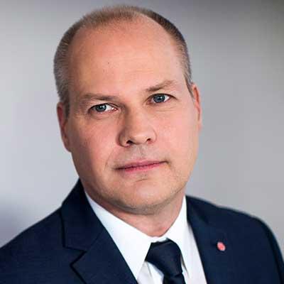Morgan Johansson   Svensk Juriststämma